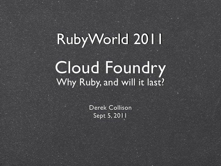 RubyWorld 2011