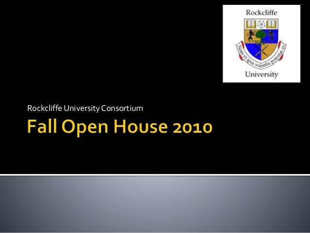 Rockcliffe University Fall Open House