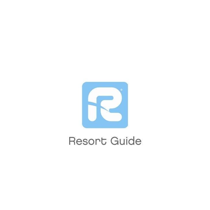 Rudechalets Resort Guide 09 10
