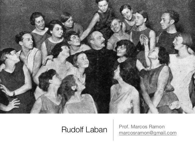 Rudolf Laban Prof. Marcos Ramon  marcosramon@gmail.com