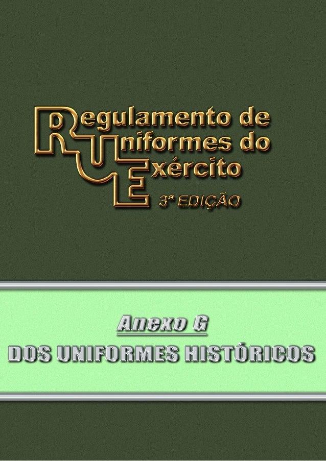 Pag 2 INDICE III III IV V VI VII VIII IX X XI I – Uniformes Históricos do Batalhão da Guarda Presidencial – Batalhão Duque...
