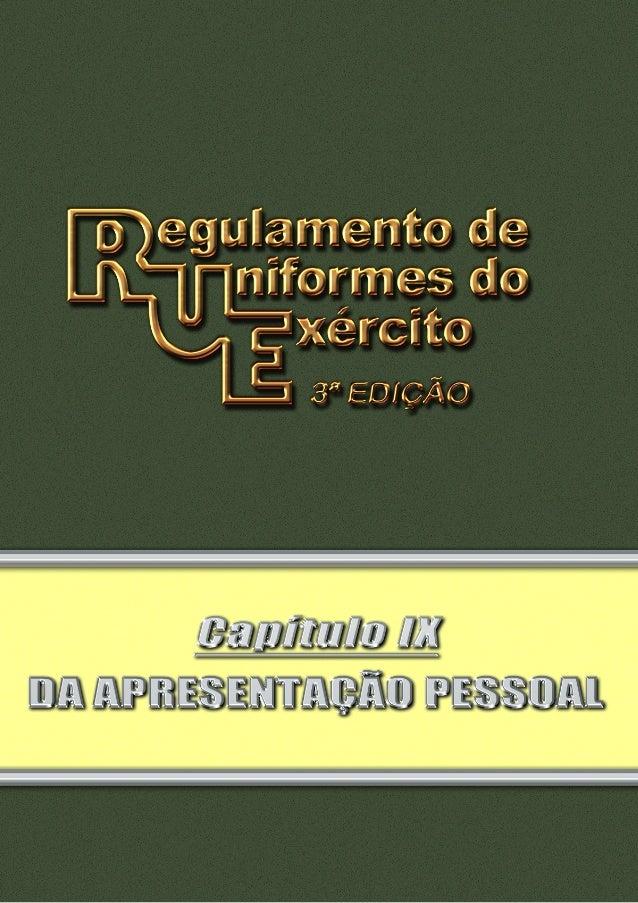 Pag 2 INDICE III III IV V VI VII VIII IX X XI Seção I Da Apresentação Pessoal do Segmento Masculino..........................