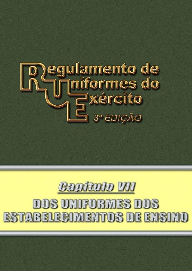 Pag 2 INDICE III III IV V VI VII VIII IX X XI Seção I Uniformes da Academia Militar das Agulhas Negras (AMAN) Subseção I -...