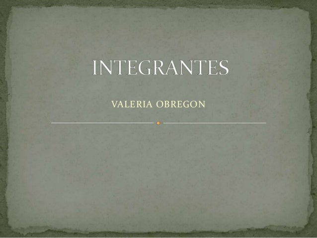 VALERIA OBREGON