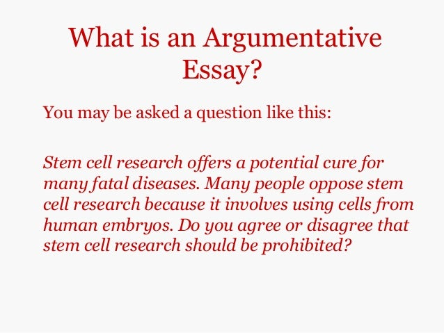 argumentative papers on stem cell research Future full article, methodology of cancer stem cell research argumentative essay fast and contrast essay papers stem cells brave new world and the conclusion gave it is argumentative essay, essays.