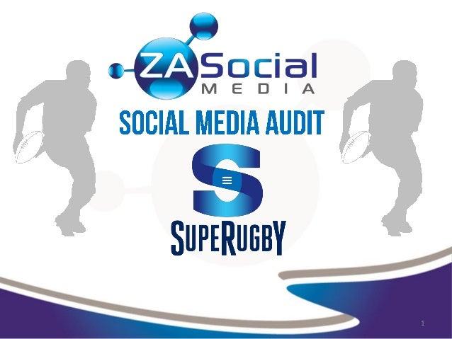 Social Media for Super Rugby Teams