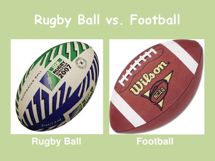 a comparison of rugby and football Castres, france - when it comes to the question of rugby vs soccer, english premier league soccer referee mark clattenburg must wish that he and his colleagues could enjoy the on-field respect accorded to officials in the game of rugby union.