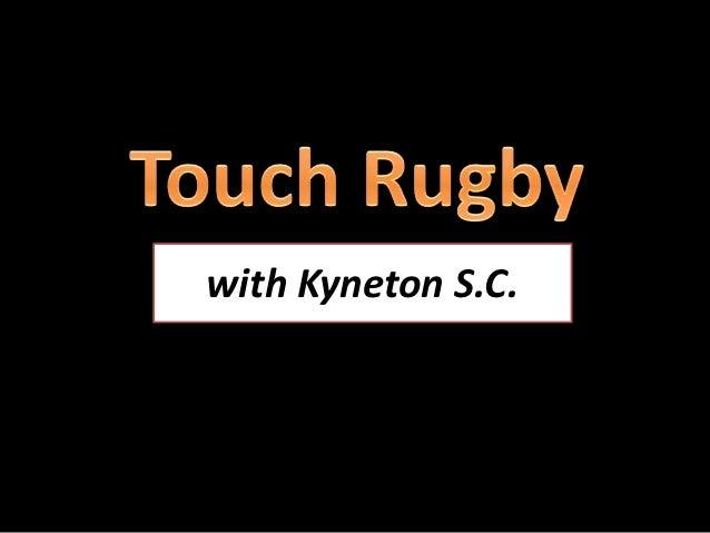 with Kyneton S.C.