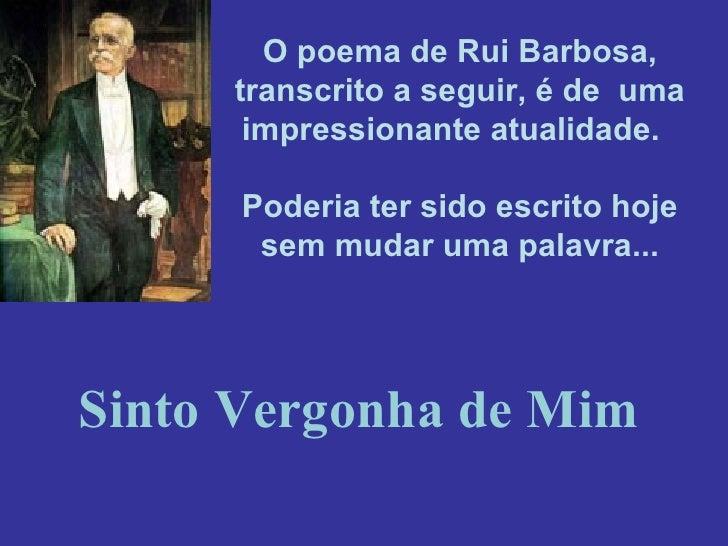 Texto de Rui Barbosa