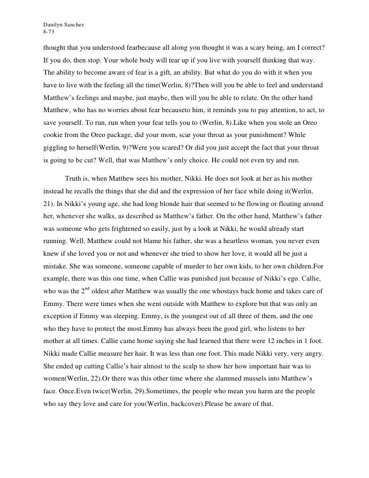 ghost s child essay