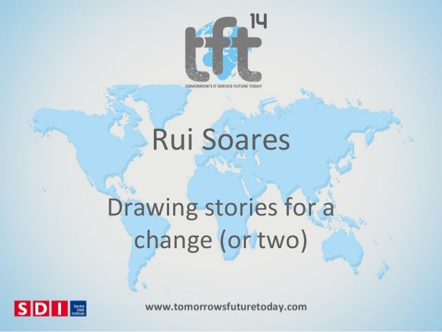 #TFT14 Rui Soares, Drawing stories for a change (or two)