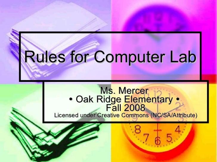 Rules Intermediate