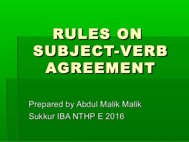 20 Rules Of Subject Verb Agreement Yourdictionary 8206799