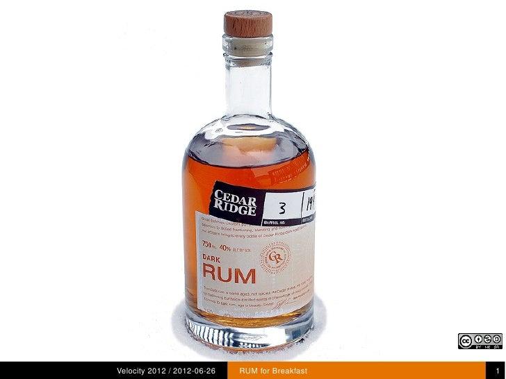 Rum for Breakfast
