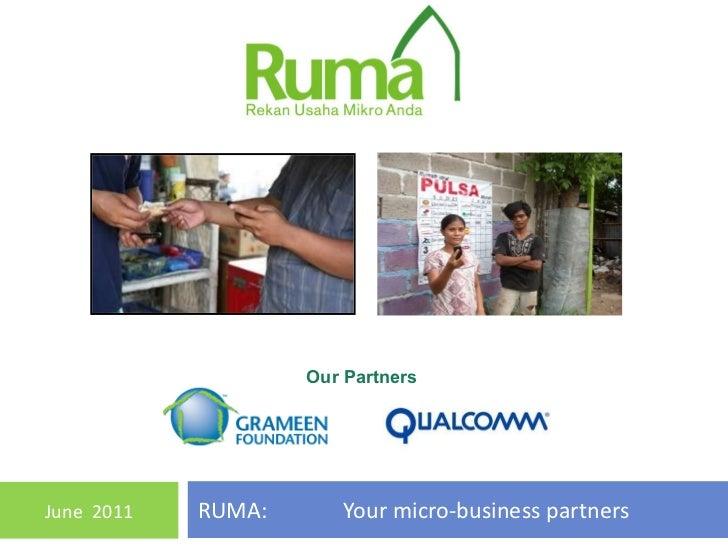 Presentasi RUMA - SxC Summit 2011