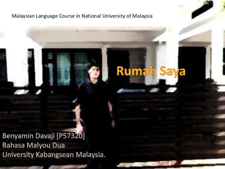 Malaysian Language Course in National University of Malaysia                                                              ...