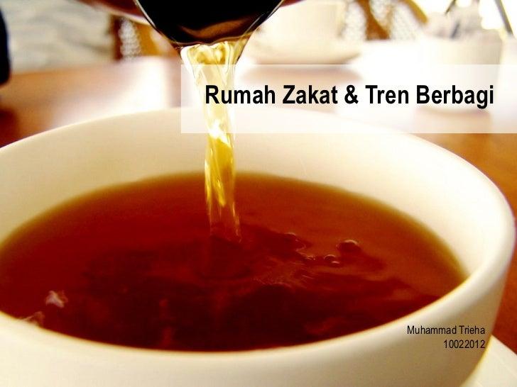 Rumah Zakat & Tren Berbagi                  Muhammad Trieha                        10022012