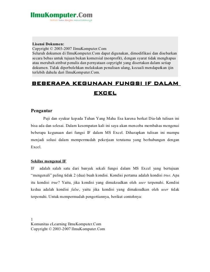 Lisensi Dokumen:Copyright © 2003-2007 IlmuKomputer.ComSeluruh dokumen di IlmuKomputer.Com dapat digunakan, dimodifikasi da...
