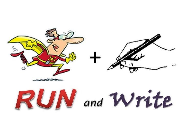 Run and write activity