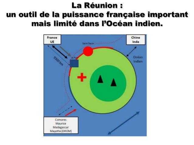 La Réunion :un outil de la puissance française important      mais limité dans l'Océan indien.