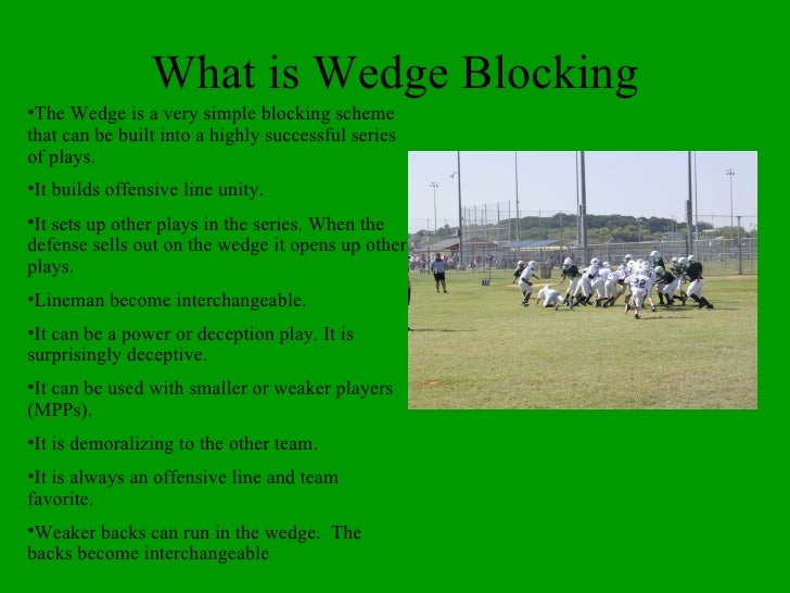 Wedge Blocking for Youth Football