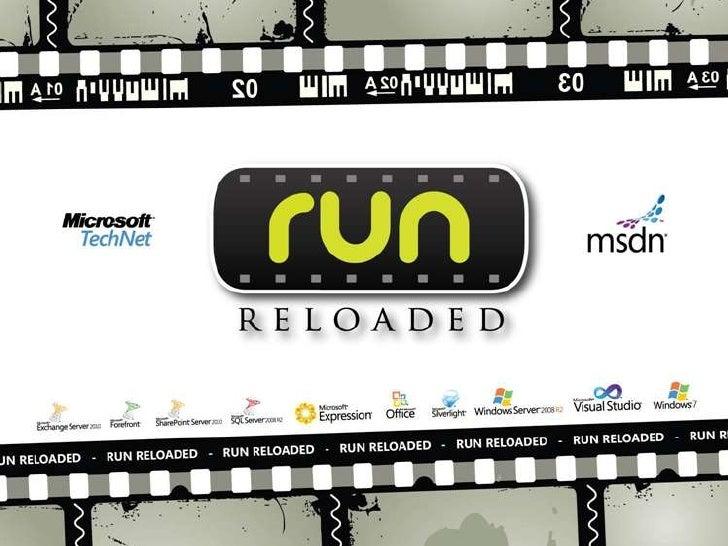 [Run Reloaded] SCVMM 2008 R2 a fondo (Antonio Scuotto + Alejandro Ponicke)