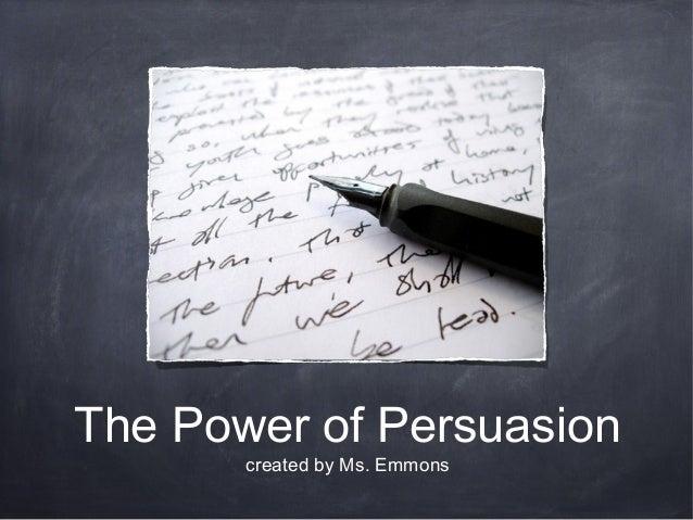 Rup persuasive essay speech