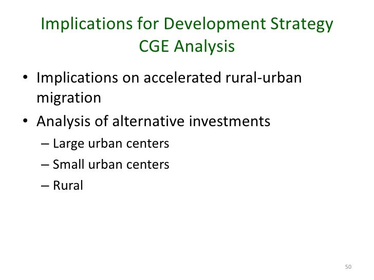 rural development policies vs urban development Urban vs rural india one is rural india and other is urban india these differences play an essential role in the development of these places.