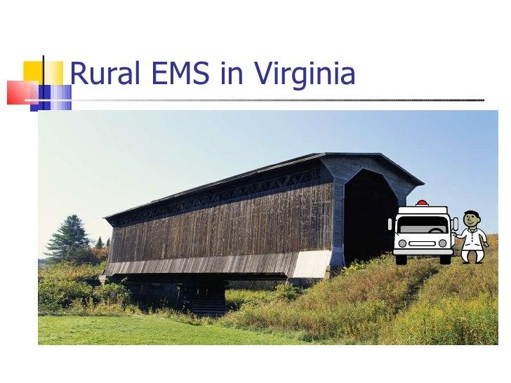 Rural EMS in Virginia