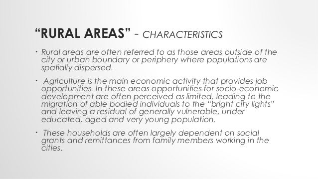 rural area and busy city essay The rural-urban migration essaysduring the past few years, the process of urban migration has been more rapid and massive many migrate in search of jobs, education and a better life-style.