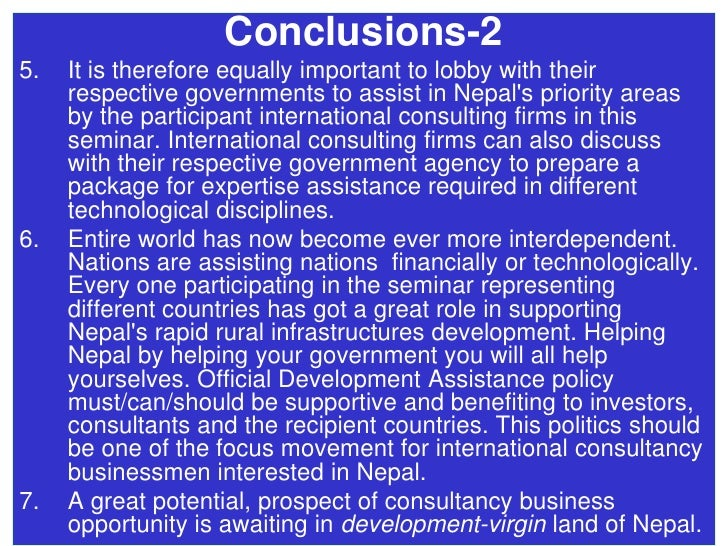 thesis on nepal trade Writing tips for economics research papers plamen nikolov, harvard university y should present evidence, cite literature, explain economic trade-o s, and generally approach the issue from an analytic perspective interested in your thesis and convinced of your argument in the rst two.