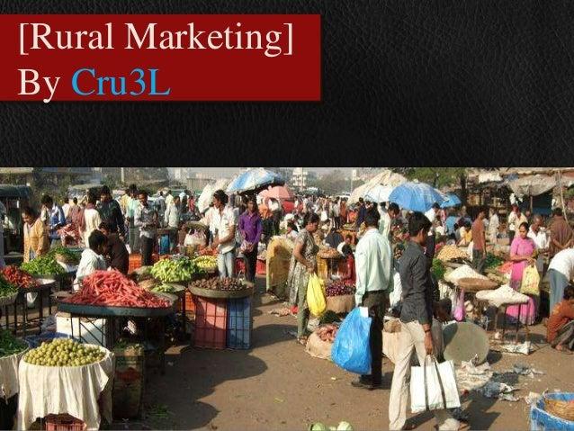 [Rural marketing]