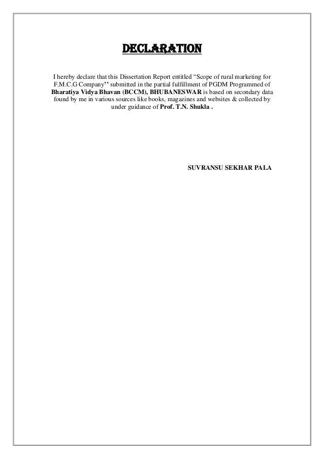 Rural marketing case studies pdf