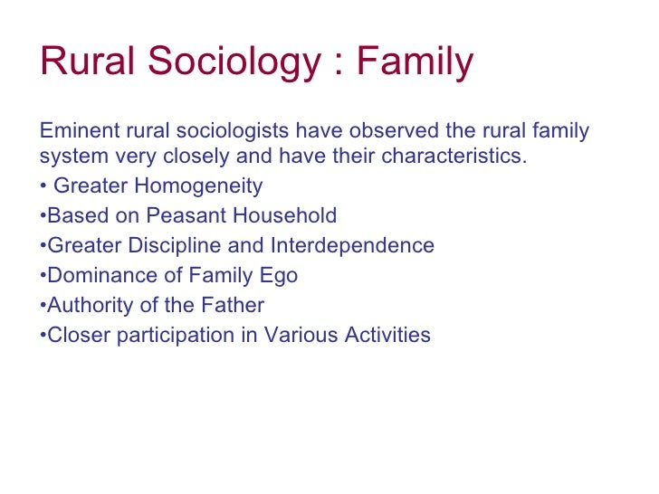 rural sociology Xxvi european society for rural sociology congress in aberdeen, scotland 2015 18 – 21 august 2015 xxvi european society for rural sociology congress website xxv esrs congress in florence, italy 2013 29th july – 1st august rural resilience and vulnerability: the rural as locus of solidarity and conflict in times of crisis call for [.