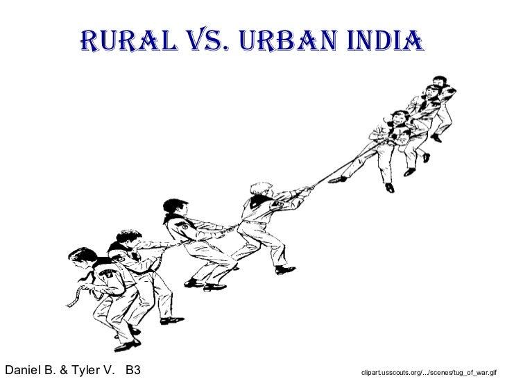 Compare and contrast urban vs rural essay