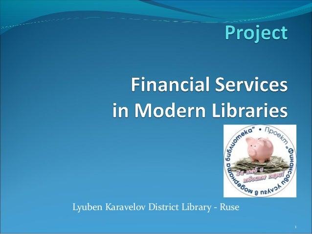 Lyuben Karavelov District Library - Ruse 1