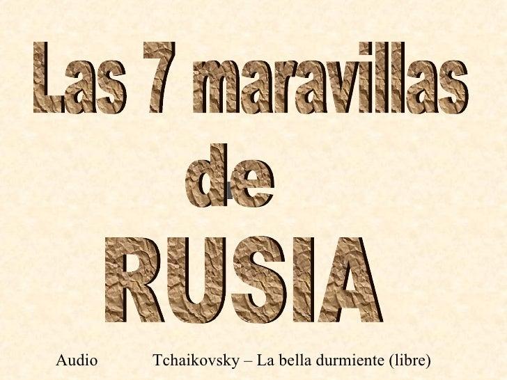 Audio   Tchaikovsky – La bella durmiente (libre)