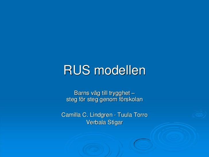 RUS öppen föreläsning Stockholm 8 mars 2011 hemsidan