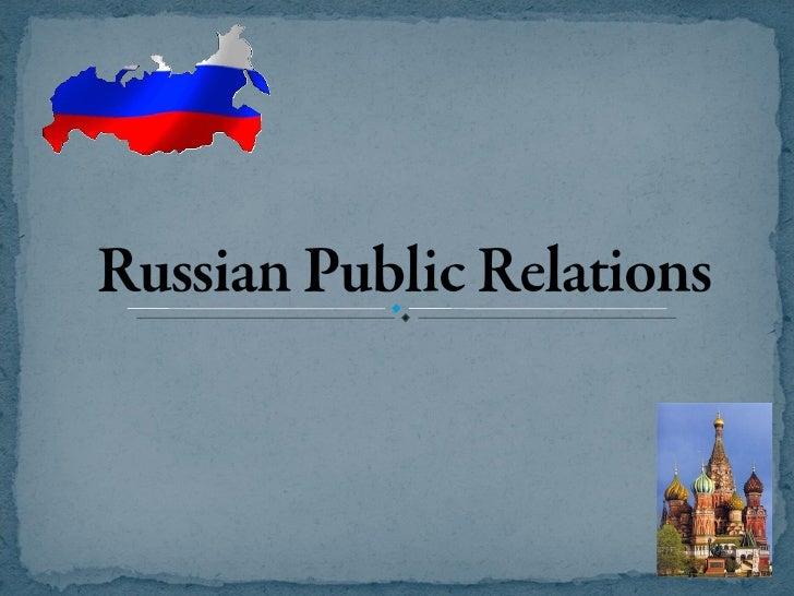 PR in Russia