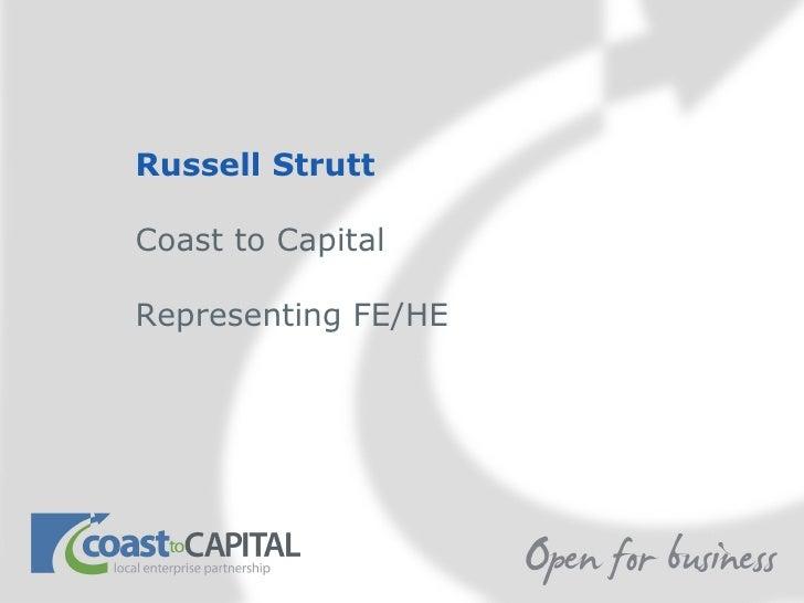 Russell strutt coast to capital lep 190911