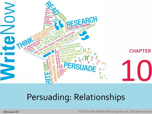 McGraw-Hill 10 Persuading: Relationships