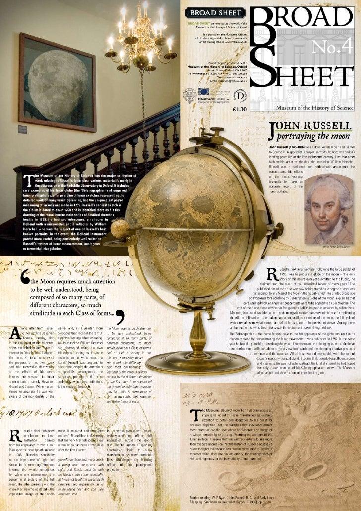 Russel moon globe