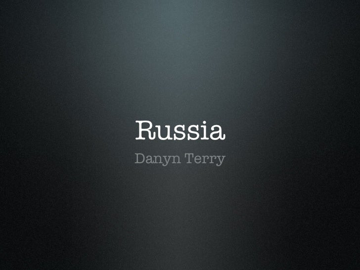RussiaDanyn Terry