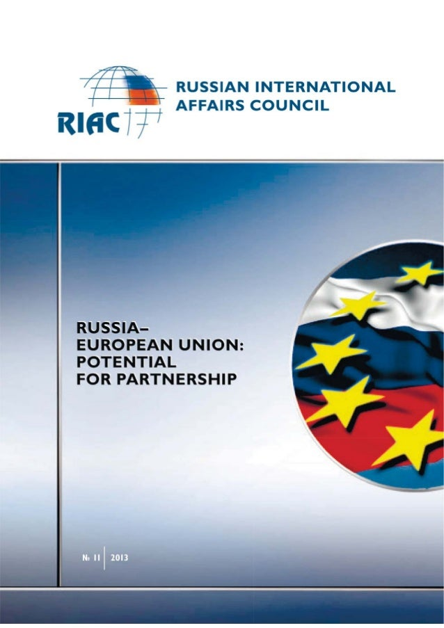 Russia–European Union: Potential for Partnership