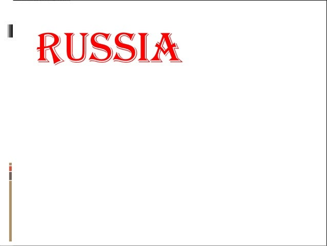 Russia  geography