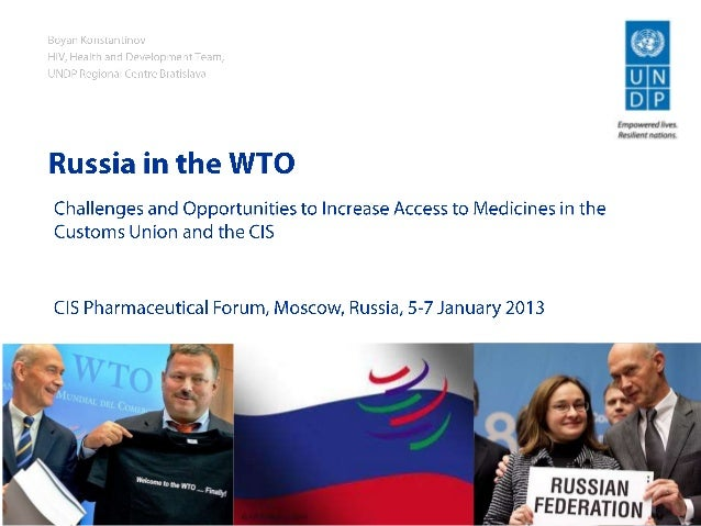 Russia in the WTO