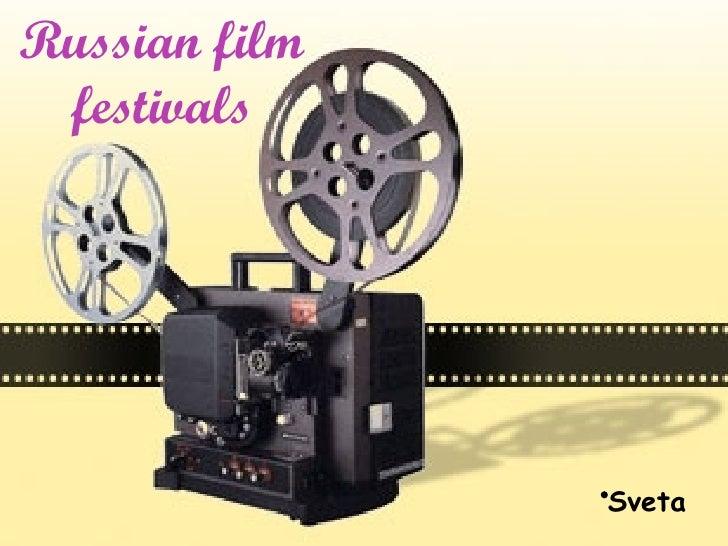 Russian Film Festivals