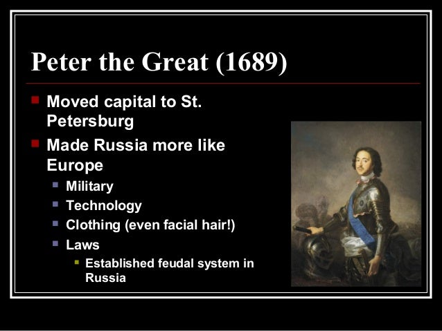 how tsar peter i forced his war into power in russia in 1689 They felt disgusted over the unorthodox ways of tsar peter they hated his russia and turn it into a great power his great leaders: who was peter.