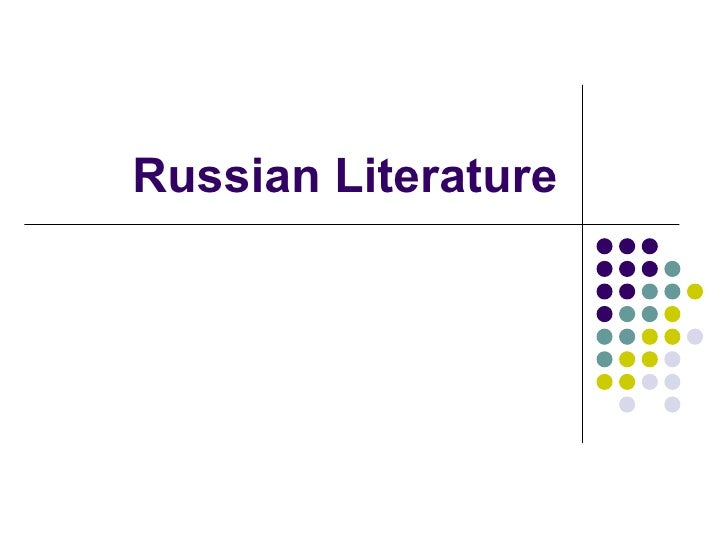 Russian Russian Literature 114