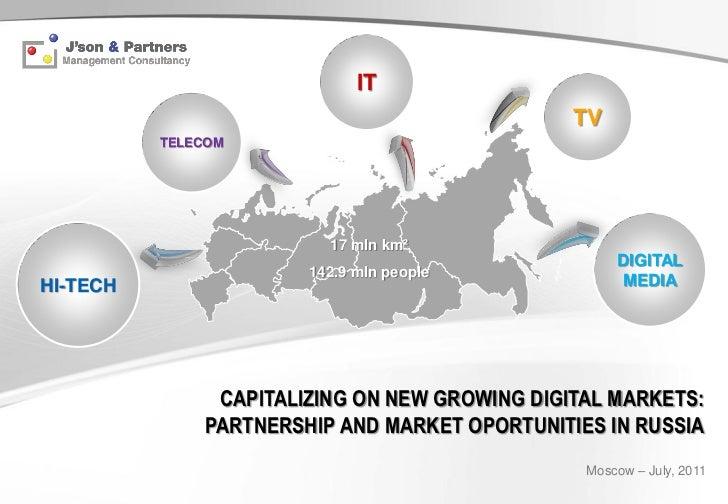 Russian market opportunities 2011